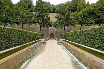 Siena Online Siena - Giardini della Fortezza Medicea